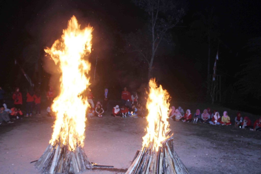 bonfires and performing arts